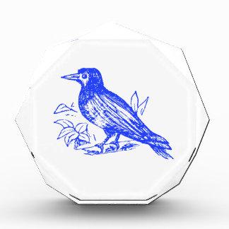 Blue Bird Acrylic Award