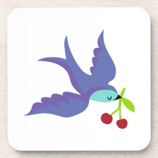 Blue Bird Beverage Coaster
