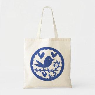 Blue Bird Budget Tote Bag