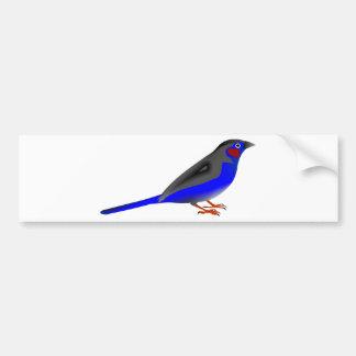 Blue Bird Bumper Sticker