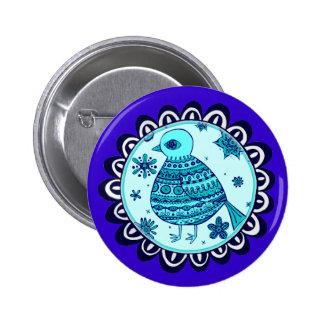Blue Bird Button