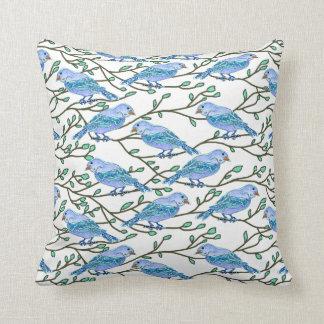 Blue Bird Conference Pillows