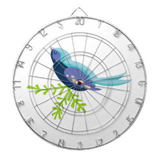 Blue Bird Dart Board