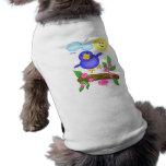 Blue Bird Happiness Spring T-Shirt Pet Shirt