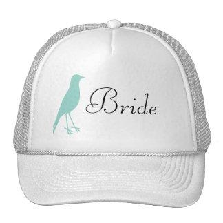 blue bird hat