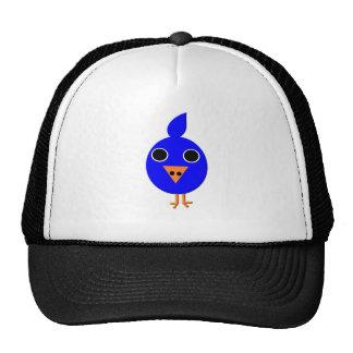 Blue Bird Mesh Hat