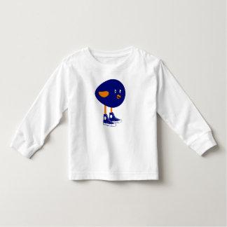 Blue Bird in Tennis Shoes Toddler T-shirt