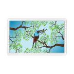Blue Bird in Trees Acrylic Tray