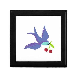 Blue Bird Jewelry Box