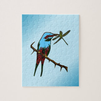 Blue Bird Jigsaw Puzzle