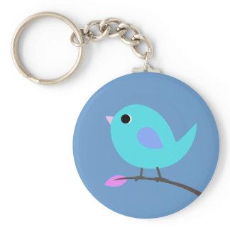 Blue Bird Keyring
