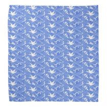 Blue Bird of Happiness / Blue Love Birds Bandana