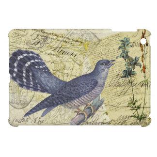 Blue Bird of Happiness iPad Mini Cases