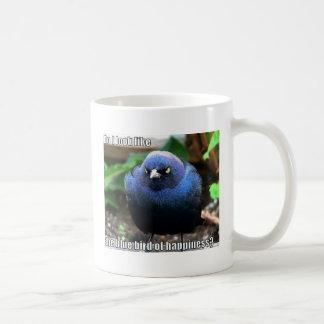 blue bird of happiness mugs