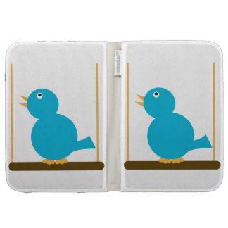 Blue Bird on a Perch Caseable Case Case For The Kindle
