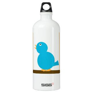 Blue Bird on a Perch Liberty Bottle SIGG Traveler 1.0L Water Bottle