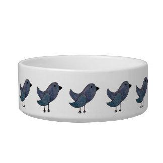Blue Bird Pet Dish