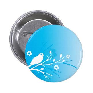 Blue Bird Pinback Button