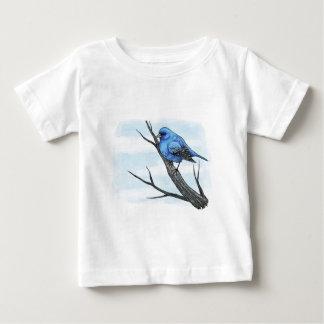 Blue Bird Sketch Baby T-Shirt