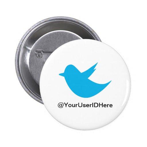 Blue Bird Social Media Button