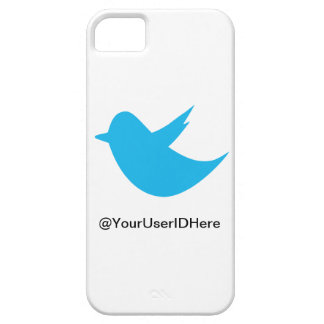Blue Bird Social Media iPhone 5 Cases