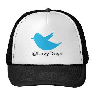 Blue Bird Social Media Trucker Hat
