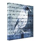 Blue Bird Song Canvas Prints