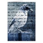 Blue Bird Song Card