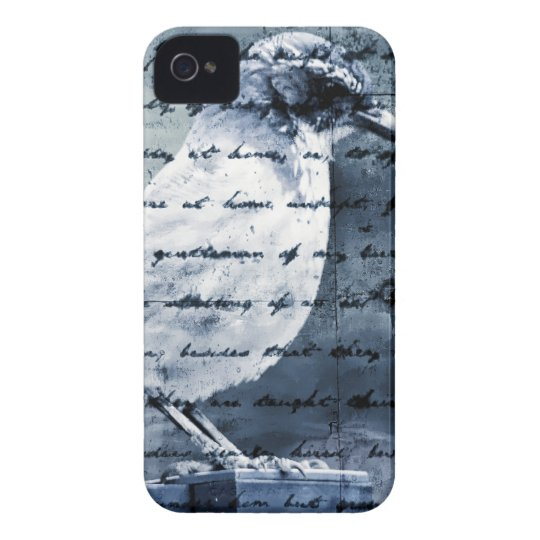 Blue Bird Song iPhone 4 Cover