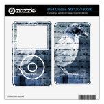 Blue Bird Song iPod Skins