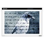 Blue Bird Song Laptop Decal