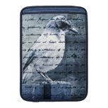 Blue Bird Song MacBook Sleeves