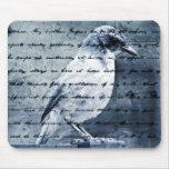 Blue Bird Song Mousepad
