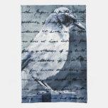 Blue Bird Song Towels