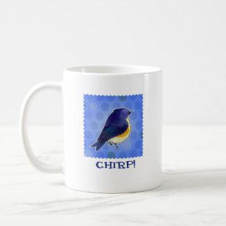 Blue Birdie Mug(left handle) Coffee Mug