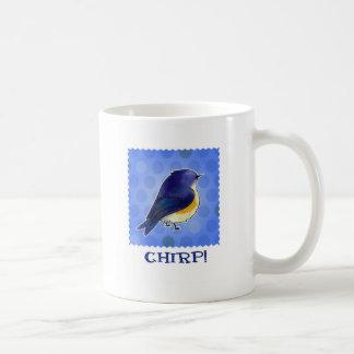 Blue Birdie Mug(right handle) Coffee Mug
