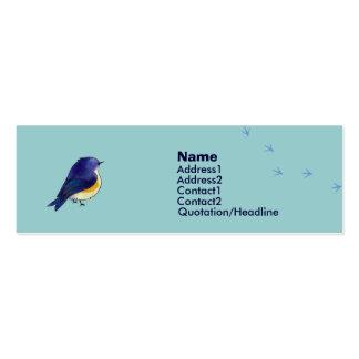 Blue Birdie Profile Card Business Cards