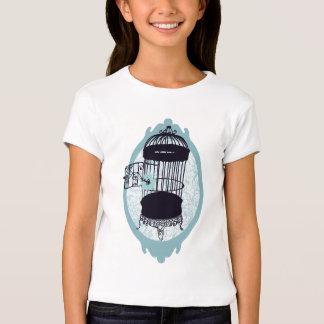 Blue birdie's escape girl tshirt