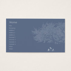 Blue Birds - Business Business Card at Zazzle