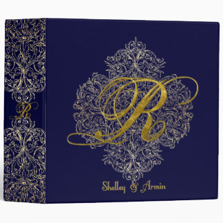 Blue Birds of Happiness 3 Ring Binder