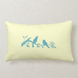 Blue Birds Pillow