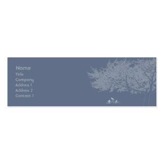 Blue Birds - Skinny Business Card