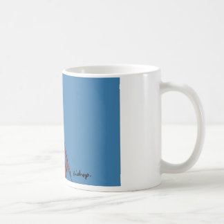 Blue bishop coffee mug