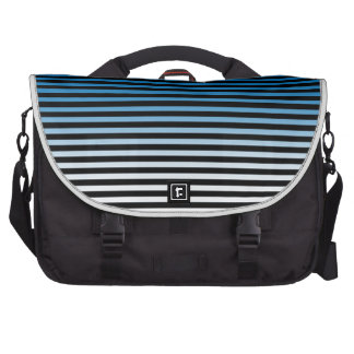 Blue, Black and Add 3rd Color Stripes Bags For Laptop
