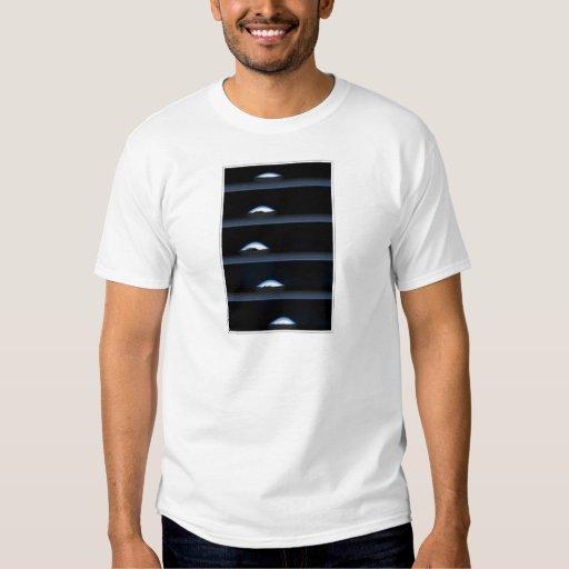 Blue-Black bubbles T Shirt