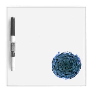 blue black cabbage vegetable image dry erase board