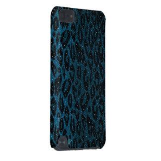 Blue Black Cheetah Stars iPod Touch 5G Cover