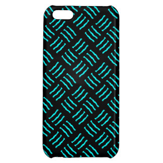 Blue & Black Claw marks Case For iPhone 5C