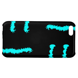 Blue & Black Claw marks iPhone 5C Cover