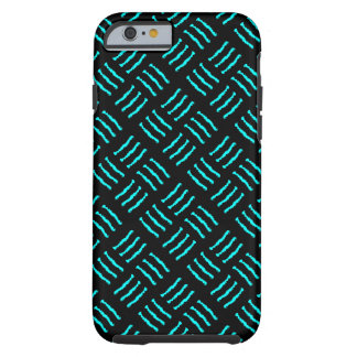 Blue & Black Claw marks Tough iPhone 6 Case